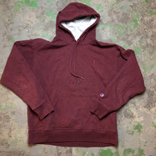Load image into Gallery viewer, Burgundy champion hoodie