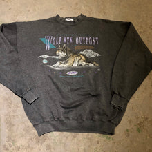 Load image into Gallery viewer, Vintage Wolf Outpost Crewneck