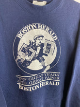 Load image into Gallery viewer, 90s Boston Herald crewneck