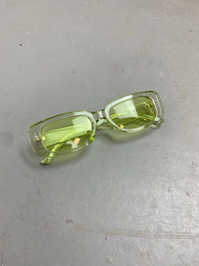 Retro green sunglasses