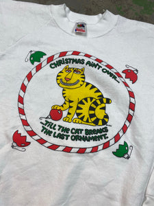 80s holiday crewneck