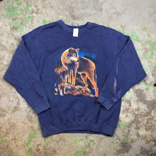 Load image into Gallery viewer, 90s wolf Crewneck