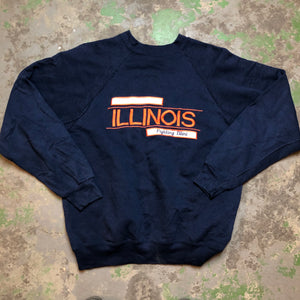 Embroidered Illinois Crewneck
