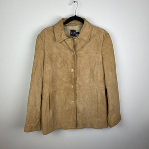 90s suede Gap jacket