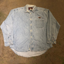 Load image into Gallery viewer, Hardrock Cafe Denim Button Up