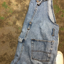 Load image into Gallery viewer, Denim short overalls
