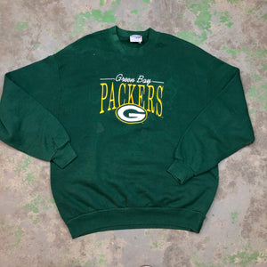 Embroidered packers Crewneck