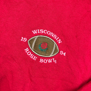 Embroidered Wisconsin Crewneck