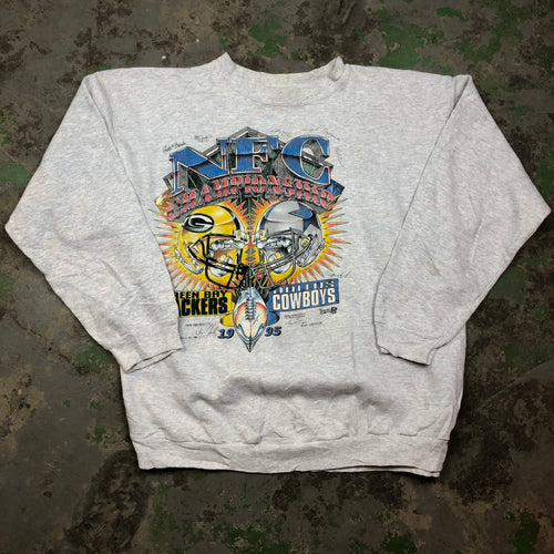 Off printed NFL Crewneck