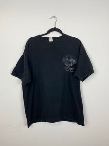 Faded front and back Harley Davison t shirt