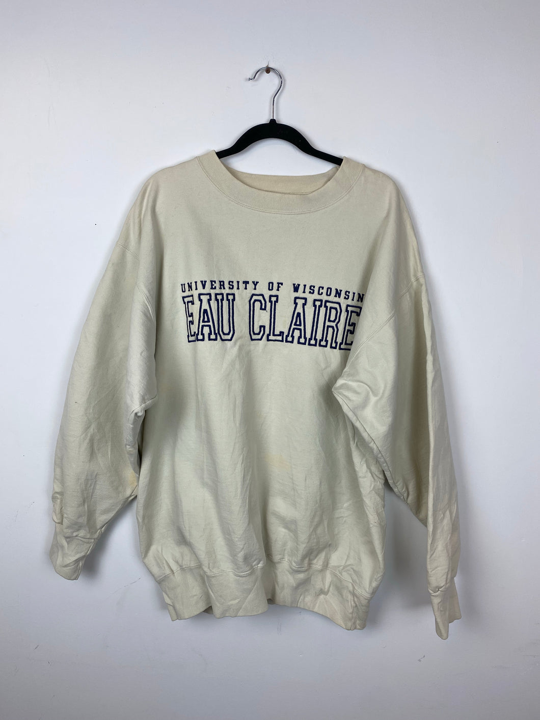 Vintage heavy weight University of Wisconsin crewneck