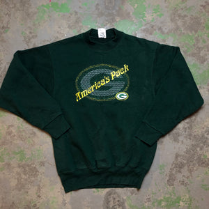 America's pack ! Embroidered packers Crewneck
