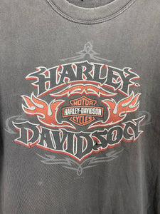 Vintage Front and back Harley Davidson t shirt - S