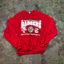 Load image into Gallery viewer, Wisconsin badgers Crewneck