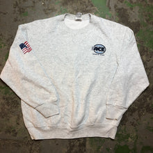 Load image into Gallery viewer, World wide front and back ace Crewneck