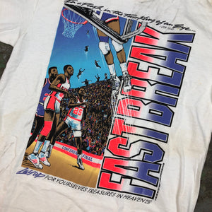 90s basketball t shirt