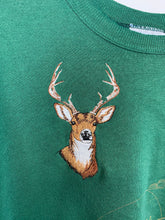 Load image into Gallery viewer, Embroidered Deer Wisconsin crewneck