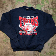 Load image into Gallery viewer, Vintage Minnesota twins Crewneck