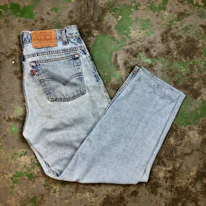 Wide leg Levi's denim