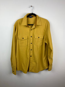 Mustard cotton button up