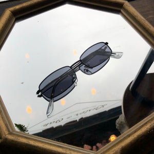 Square Shades with Black Frame