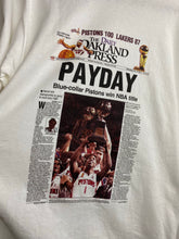 Load image into Gallery viewer, Pistons newspaper t shirt