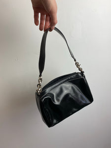 Contrast stitch bag