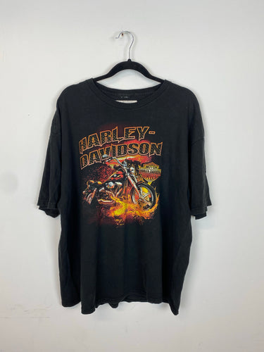 Vintage front and back Harley Davidson t shirt - M/L