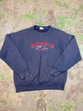 Load image into Gallery viewer, Embroidered patriots crewneck