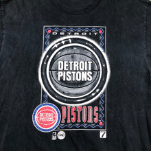 Load image into Gallery viewer, Heavy weight Detroit pistons t shirt