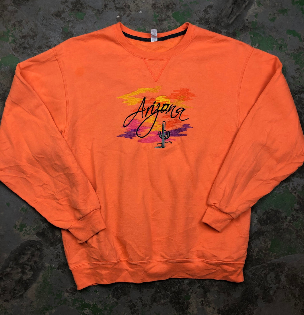 Embroidered Arizona Crewneck