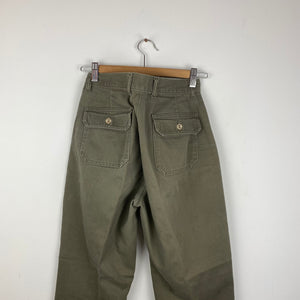 Straight leg work pants