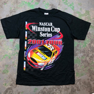 Front and back racing t shirt