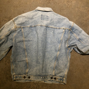 Vintage Denim Light Wash Jacket