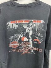 Load image into Gallery viewer, Front and back faded Harley Davidson t shirt