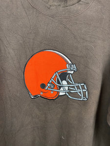 Embroidered Cleveland Browns crewneck