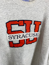 Load image into Gallery viewer, Vintage embroidered Syracuse crewneck