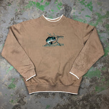 Load image into Gallery viewer, Embroidered bass Crewneck