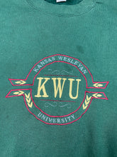 Load image into Gallery viewer, KWU embroidered crewneck