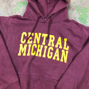 90s heavyweight central Michigan hoodie