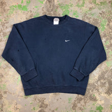Load image into Gallery viewer, Navy Nike Crewneck