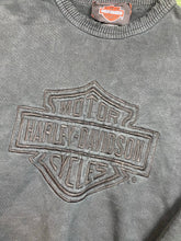 Load image into Gallery viewer, Vintage embroidered Harley crewneck
