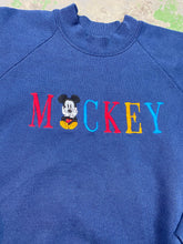 Load image into Gallery viewer, 90s embroidered Mickey crewneck