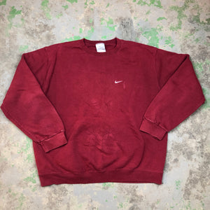 Embroidered Nike Crewneck