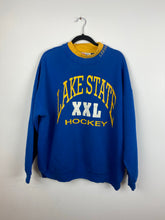 Load image into Gallery viewer, Mock neck Lake State Hockey Crewneck
