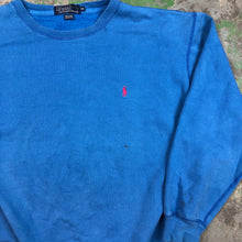 Load image into Gallery viewer, Blue polo Crewneck
