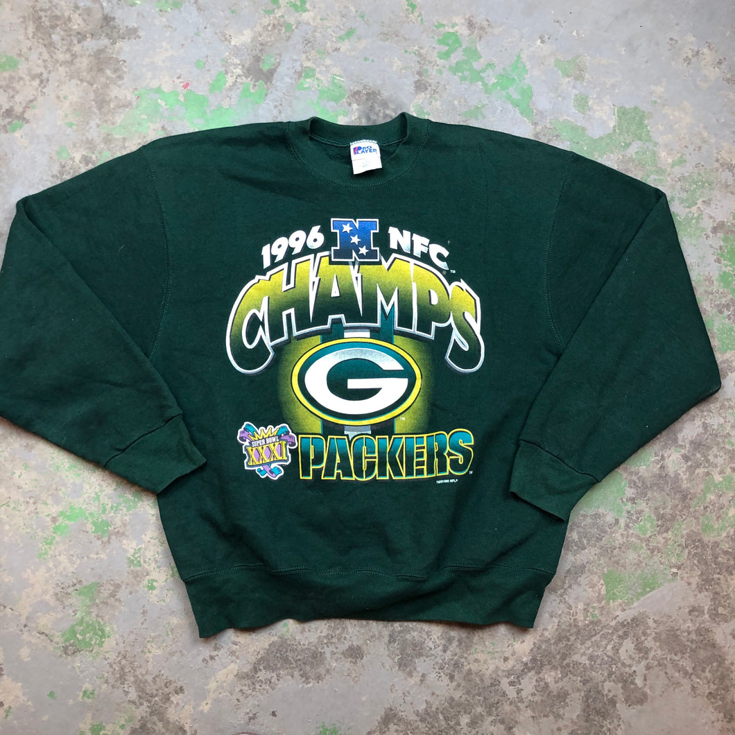 1996 packers Crewneck