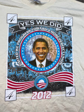 Load image into Gallery viewer, Front and back Obama t shirt