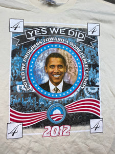 Front and back Obama t shirt