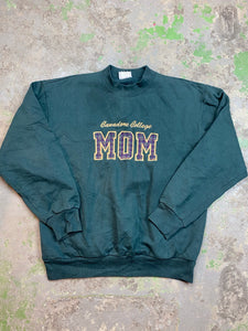 Vintage embroidered mom crewneck